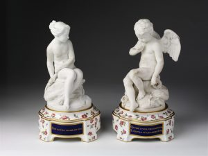 Psyche, Sevres Porcelain Figurines 18th Century