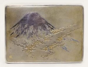 Katsuhide Japanese Silver Box